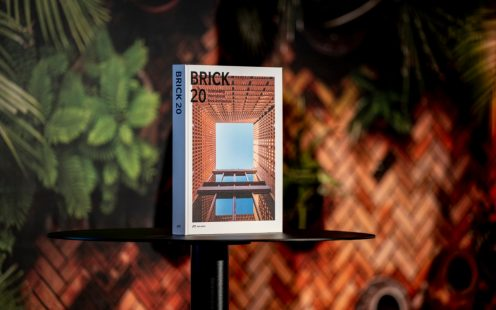 Introduction of the Brick 20 book at the Brick Award 20 ceremony