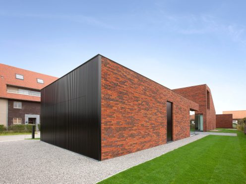 Reference photo new construction single family in De Haan